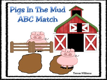 Pigs In The Mud ABC Match