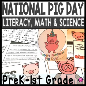Pigs National Pig Day March 1st Freebie