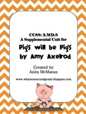 Pigs Will Be Pigs Money Word Problem Activities 2.MD.8