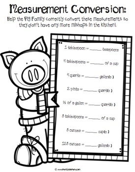 Pigs Will Be Pigs Resource Bundle {Lessons and Games for 3 Books}
