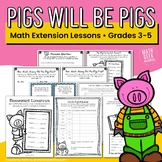 Pigs Will Be Pigs Resource Collection {Lessons and Games for 3 Books}