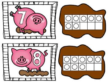 Pigs in Mud Math