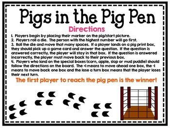 Pigs in the Pig Pen: Short i Game