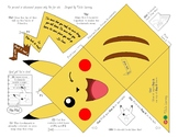 Pikachu & Pokemon Ball Page Corner Bookmark