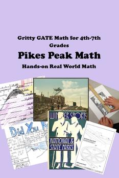 Pikes Peak Math -- 4th 5th Gifted and Talented 6-7th - Hands-on Real World STEAM