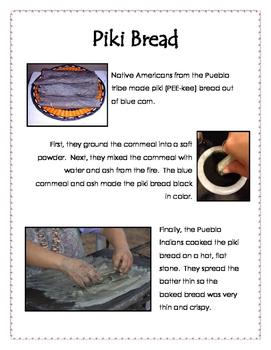 Pueblo Indians Piki Bread Recipe