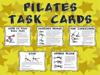 Pilates Task Cards
