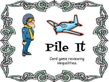 Pile It (Inequalities Card Game)