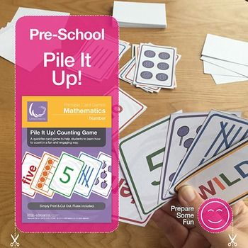 Pile It Up! Counting Card Game
