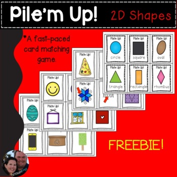 Pile'm Up! 2D Shapes