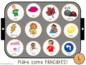 Piles of Pancakes Play Dough Mats Bundle: Early Sounds/SRL and Blends/SH,CH, TH