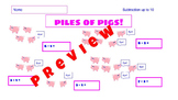 Piles of Pugs and Pigs  Printables  in a Bundle  Operations, Place Value