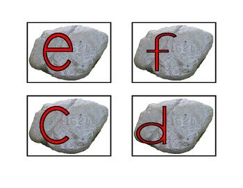 Pilgrim Alphabet Match