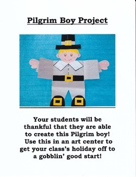 Pilgrim Boy Art and Writing Project