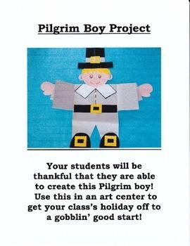 Pilgrim Boy Art and Writing Project