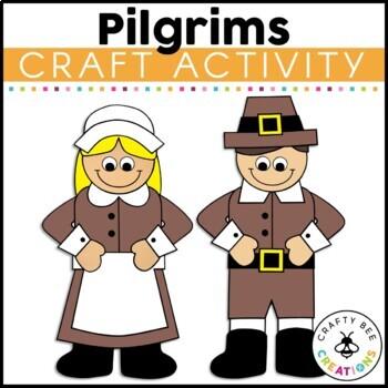 Pilgrim Boy Cut and Paste