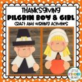 Pilgrims & Writing Activities: Fall Crafts: Thanksgiving Crafts:  November Craft
