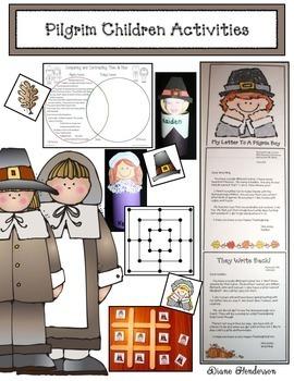 Pilgrim Children Activities