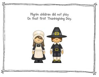 Pilgrim Children Did Not Play
