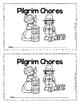Thanksgiving Pilgrim Children Had Chores Emergent Reader Book