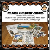 Pilgrim Chores: Thanksgiving Differentiated Story, Writing Prompt
