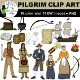 Pilgrim Clip Art