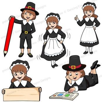 Pilgrim Clip Art | Pilgrim Kids