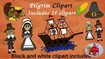 Pilgrim Clipart