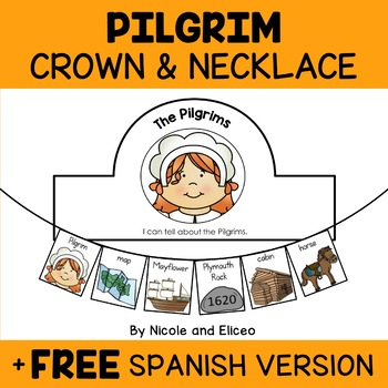 Pilgrim Activity Crown and Necklace