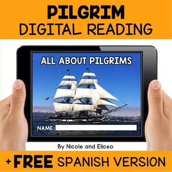 Pilgrim Reading Comprehension for Google Classroom