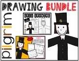 Thanksgiving PILGRIM Drawing Bundle
