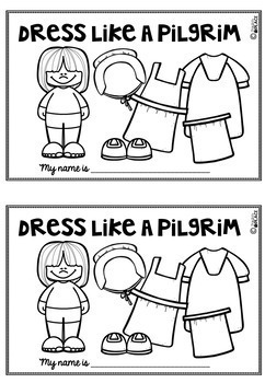 Pilgrim Dress Like a Pilgrim