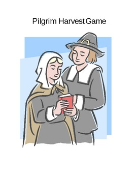 Pilgrim Harvest Number Matching Game