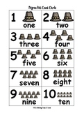 Pilgrim Hat Count Cards