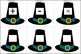Pilgrim Hat Number Cards (1-100)