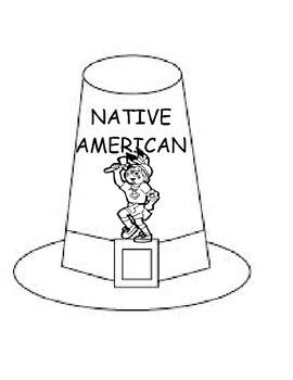 Pilgrim Hat Thanksgiving Printable Workbook (Speech, Early Childhood)