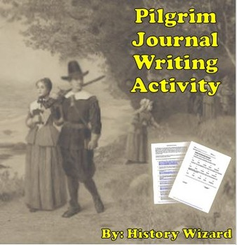 Pilgrim Journal Writing Activity