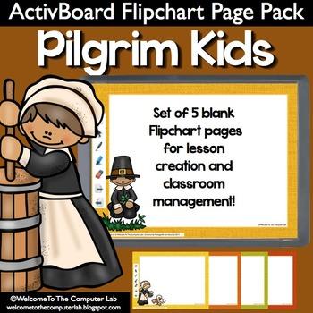 Pilgrim Kids ActivBoard Flipchart Page Pack