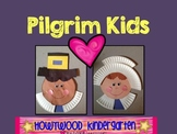 Pilgrim Kids!  Perfect for Thanksgiving!!