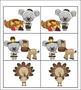 Pilgrim Koala Themed - Thanksgiving Memory / Concentration Game