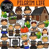 Pilgrim Life Clipart {Creative Clips Clipart}