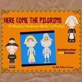 Pilgrim Math Craftivity: Multiplication and Division Numbe