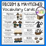 Pilgrim & Mayflower Vocabulary