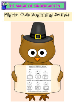 Pilgrim Owls Beginning Sounds