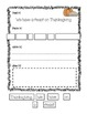 Pilgrim Pack: Literacy Worksheets to Support Thanksgiving Lessons