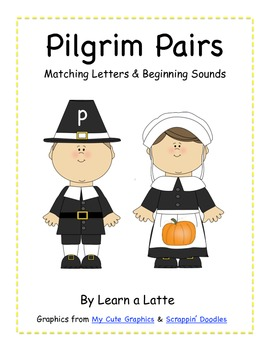 Pilgrim Pairs - Beginning Consonant Sounds