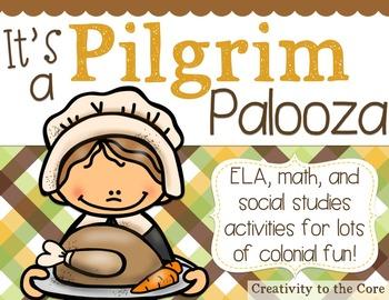 Pilgrim Palooza {ELA, Math, & S.S. Activities}