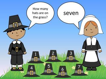 Pilgrim Pals Counting Fun