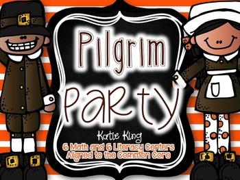 Pilgrim Party: 6 Math and 6 ELA Centers