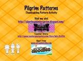 Pilgrim Patterns Center Activity